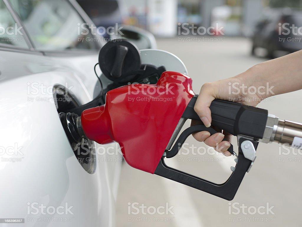 Refueling At Gas Station - XXXXXLarge stock photo