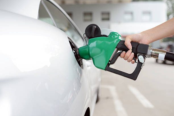 Refueling At Gas Station - XXXXXLarge stock photo