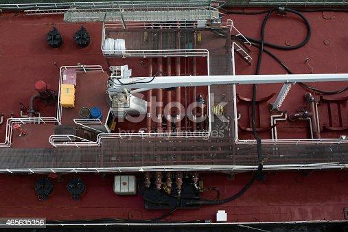istock Refueling Operation at Sea 465635356