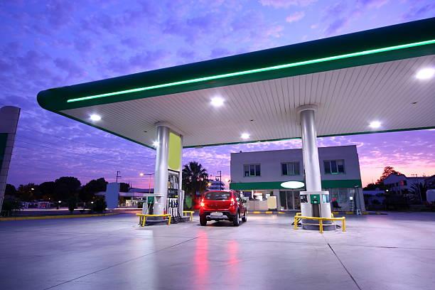 refueling station - 車站 個照片及圖片檔
