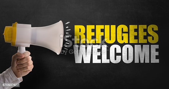 istock Refugees Welcome 670937622