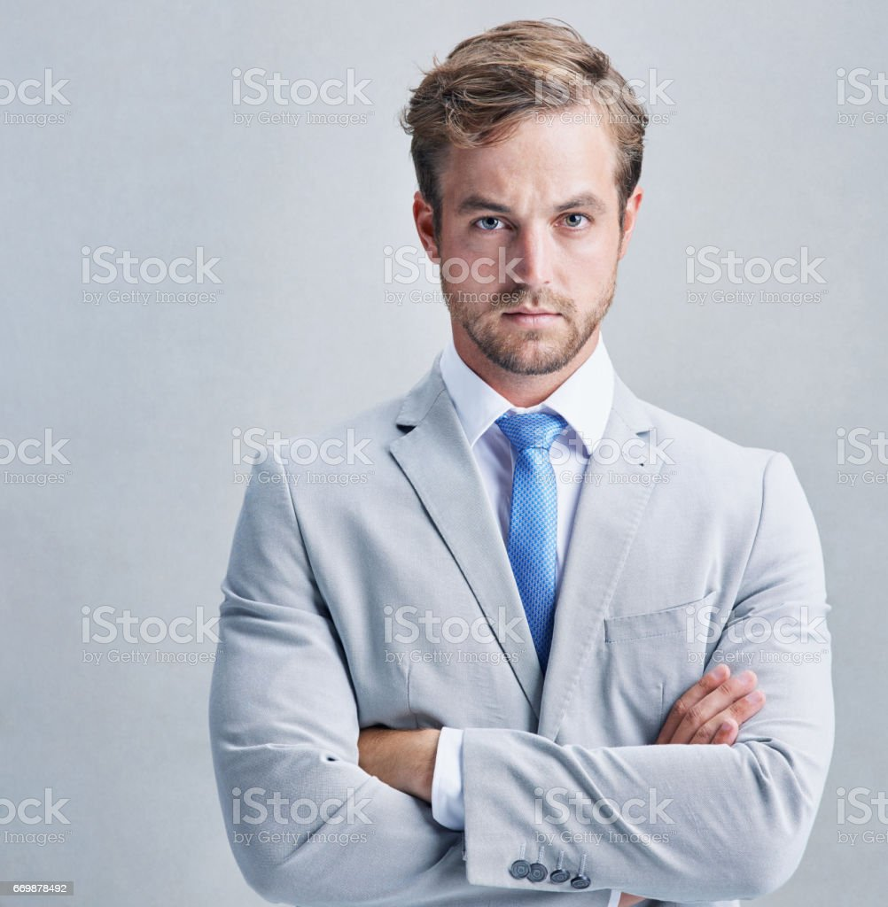 I refuse to be second best stock photo