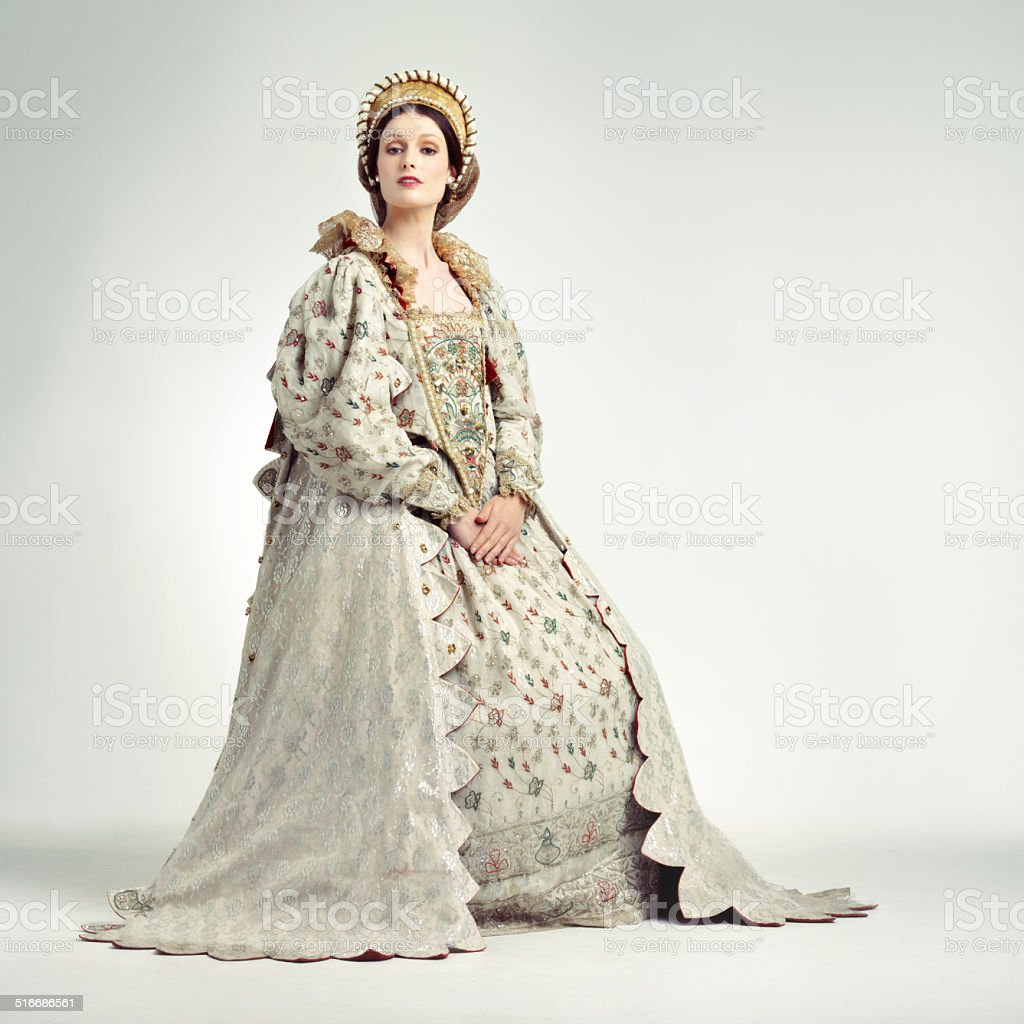 Regal ruler stock photo