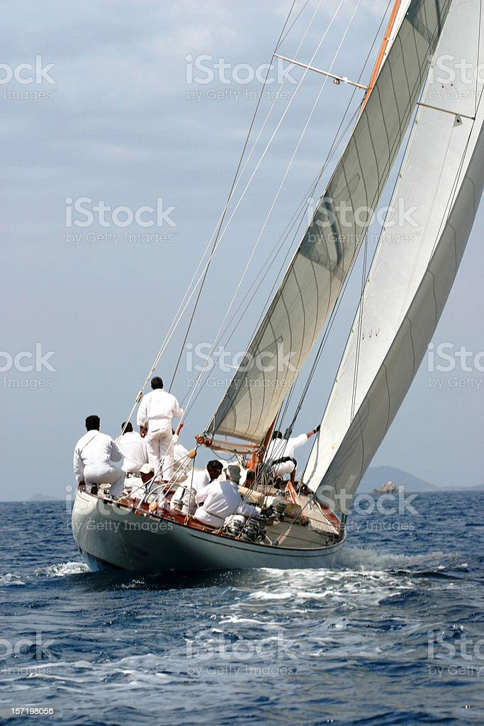 regatta Ajaccio (2007) stock photo