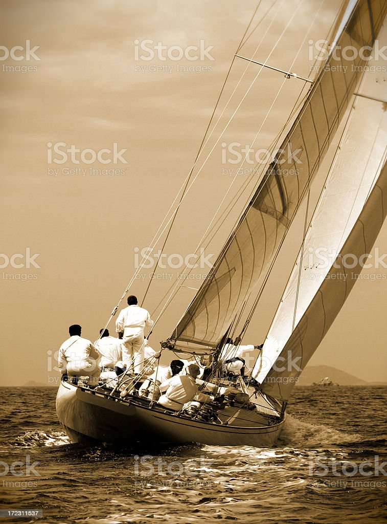 regatta Ajaccio (2007) royalty-free stock photo
