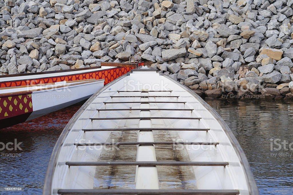 Regatta Boat stock photo