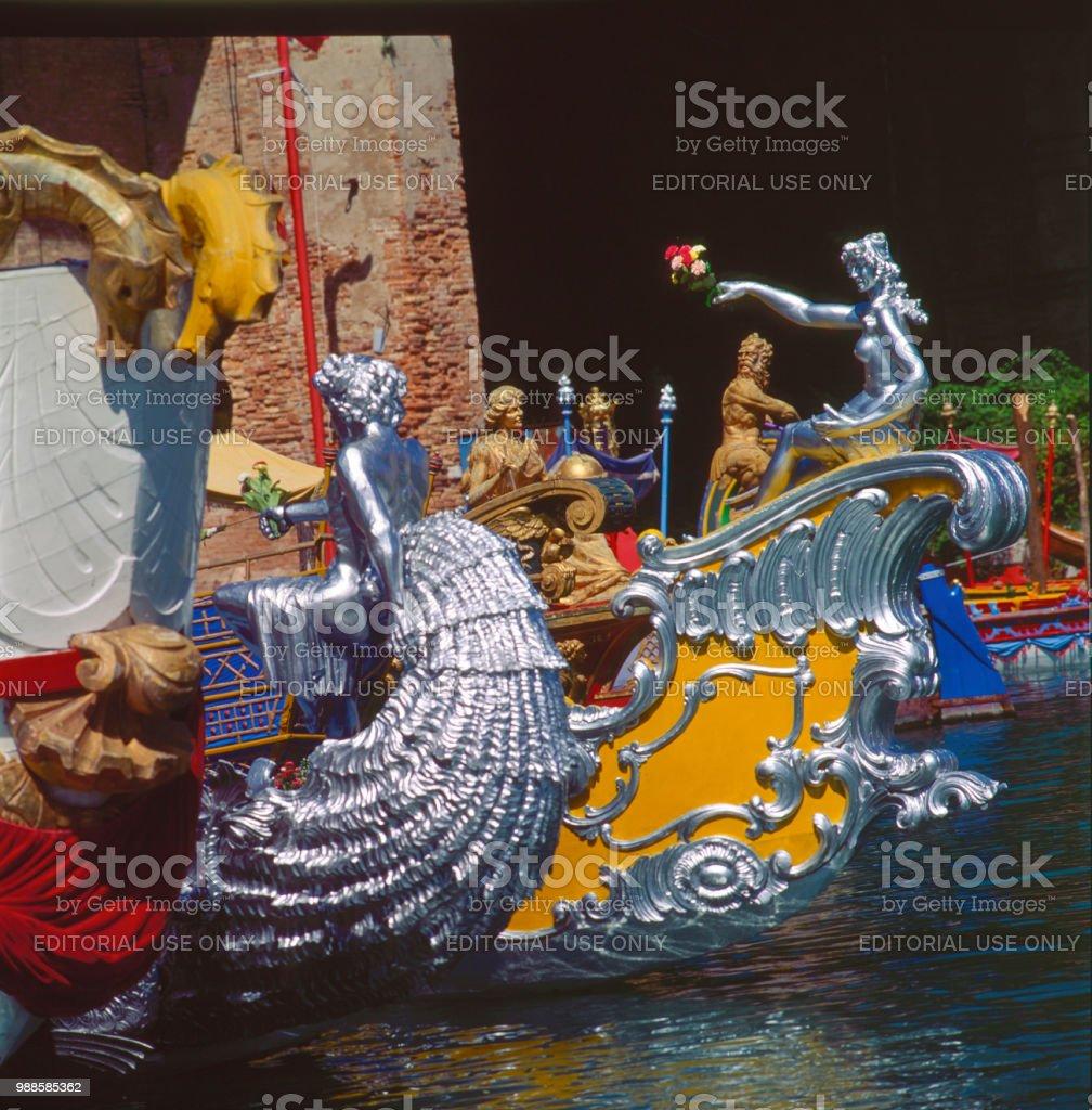 Regata ' barcos históricos - foto de acervo