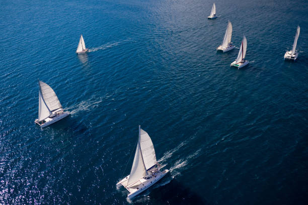 regatta in the indian ocean - sail stock pictures, royalty-free photos & images