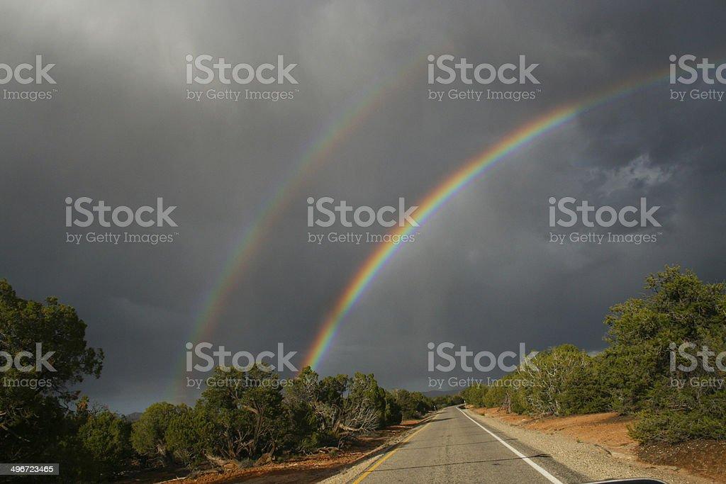 Regenbögen stock photo