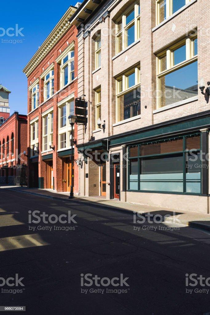Regency-Stil Stadt Backsteinbauten - Lizenzfrei 19. Jahrhundert Stock-Foto