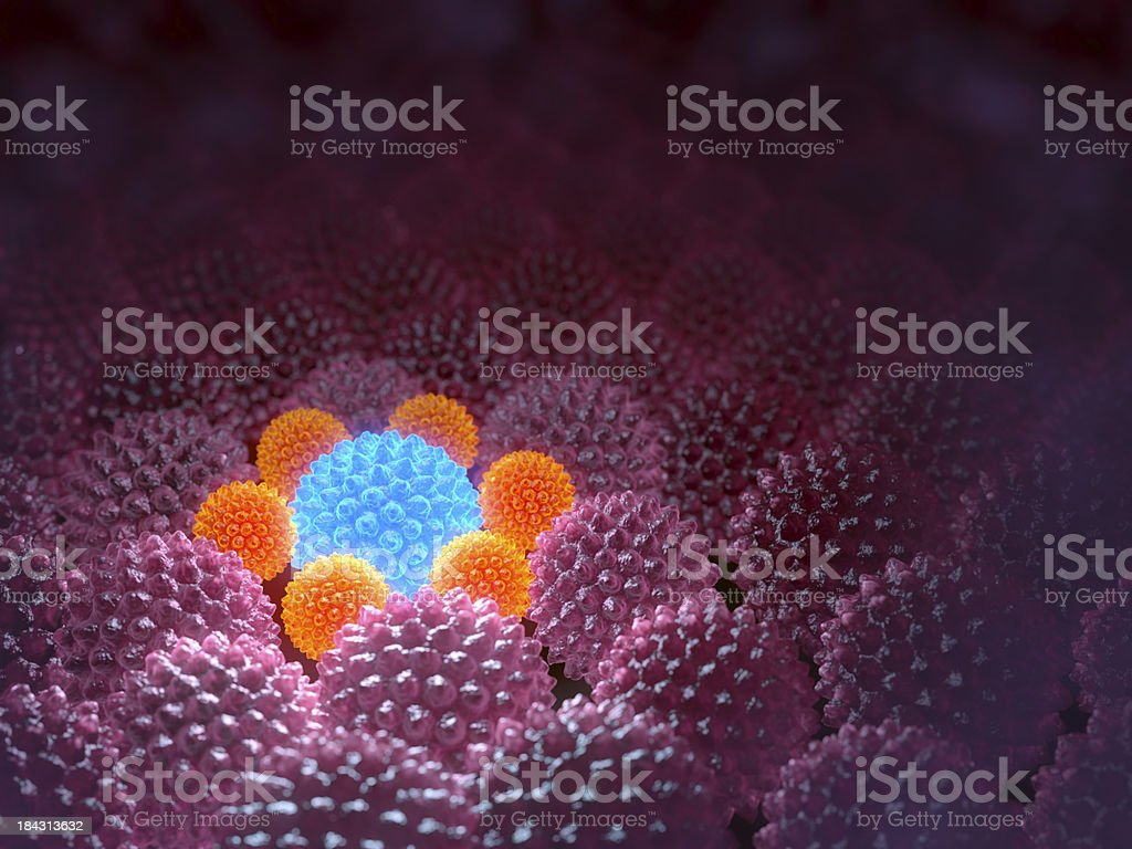 Regeneration process. stock photo