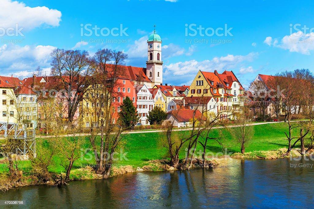 Regensburg, Bavaria, Germany stock photo