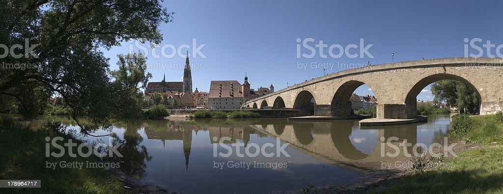 Regensburg royalty-free stock photo