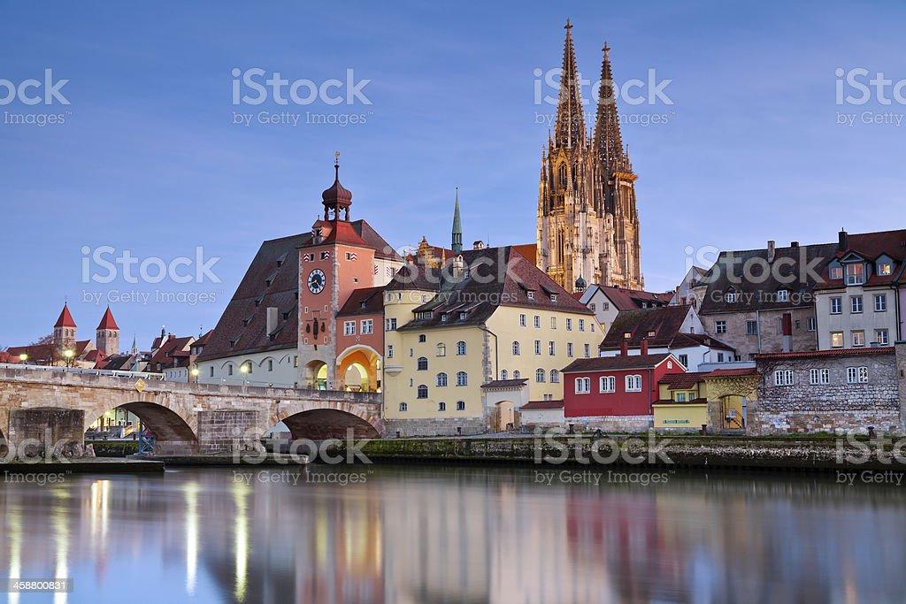 Regensburg. stock photo