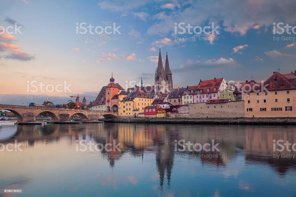 Ratisbonne (Regensburg). - Photo