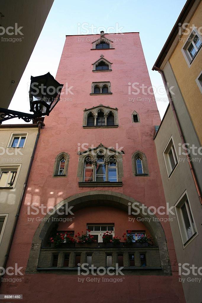 Regensburg royalty free stockfoto