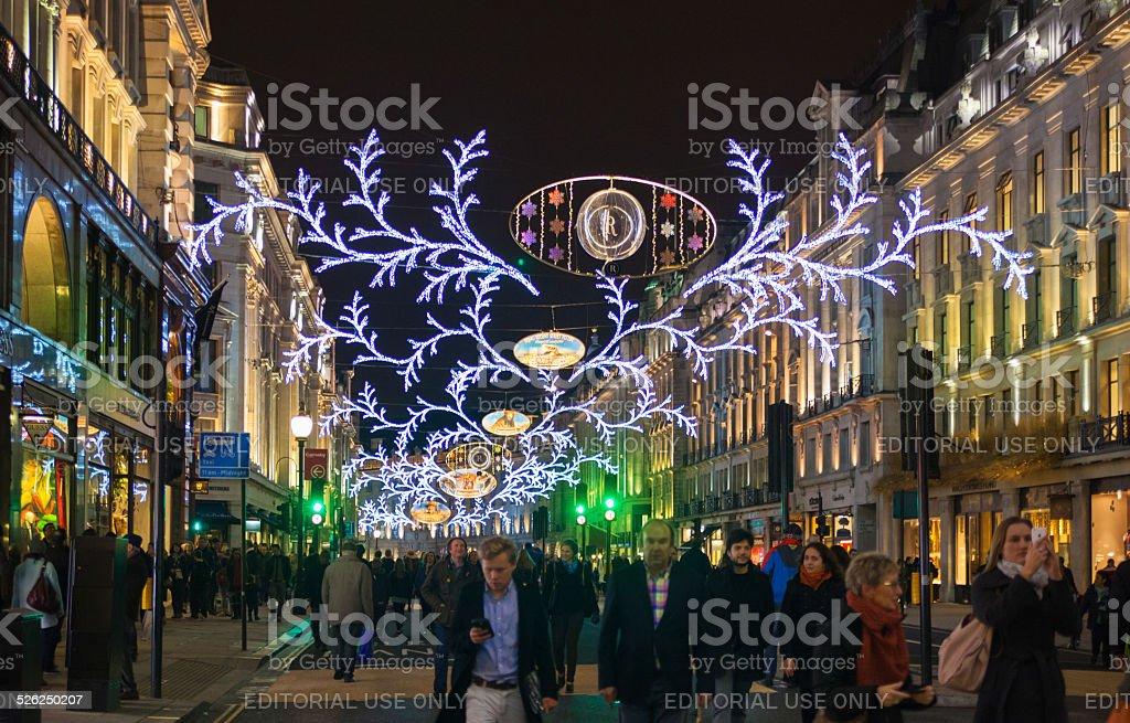 Decorazioni Natalizie Londra 2019.Regent Street Su Nero Venerdi Weekend Londra Luci Di Natale