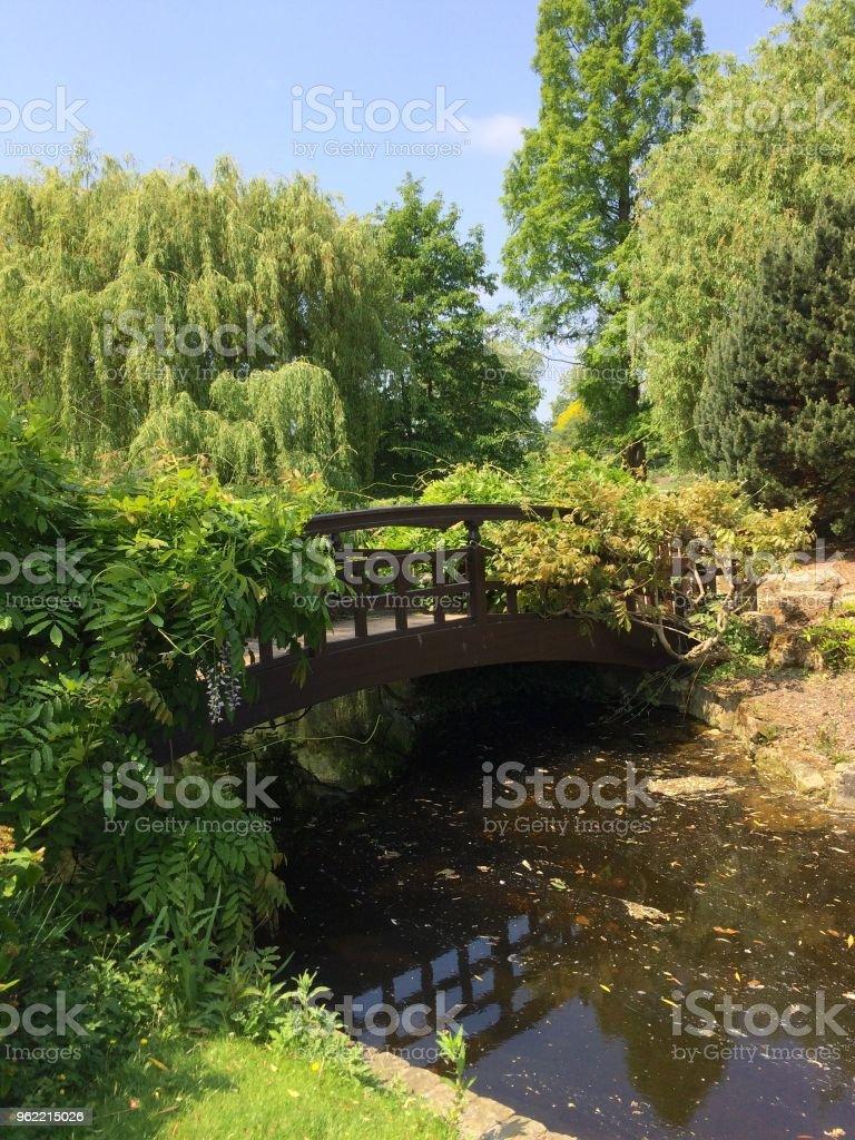 Regent's Park bridges stock photo
