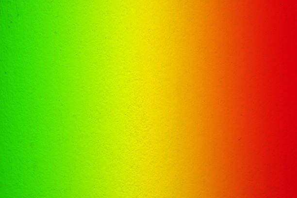 reggae color with concrete wall background – zdjęcie
