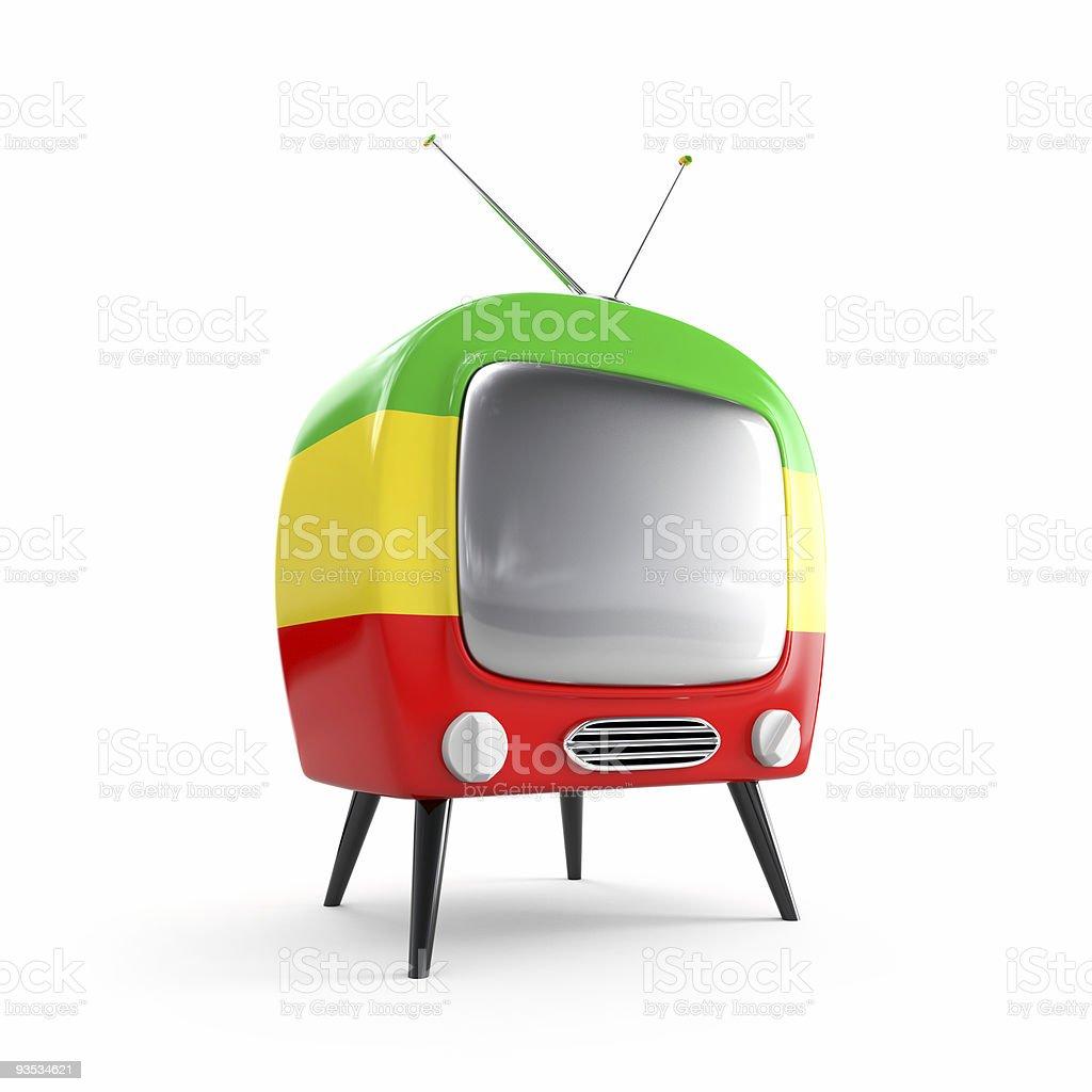Reggae TV stock photo