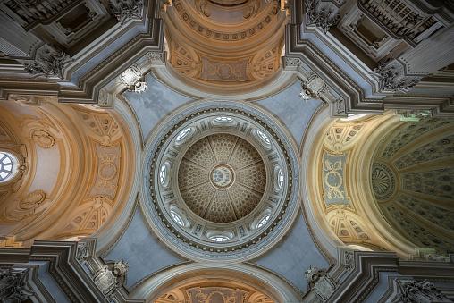 Reggia di Venaria Reale Turin Italy - Church of Saint Umberto