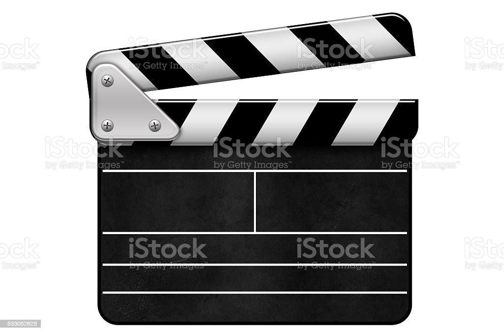Regieklappe, Movie Clapper, Filmklappe stock photo
