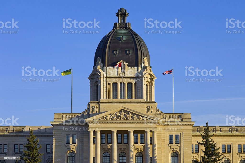 Regina, Canada royalty-free stock photo