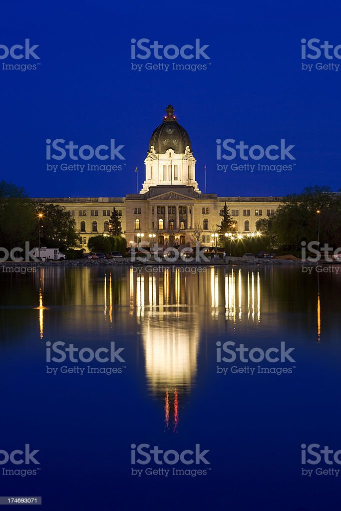 Regina, Saskatchewan, Canada royalty-free stock photo