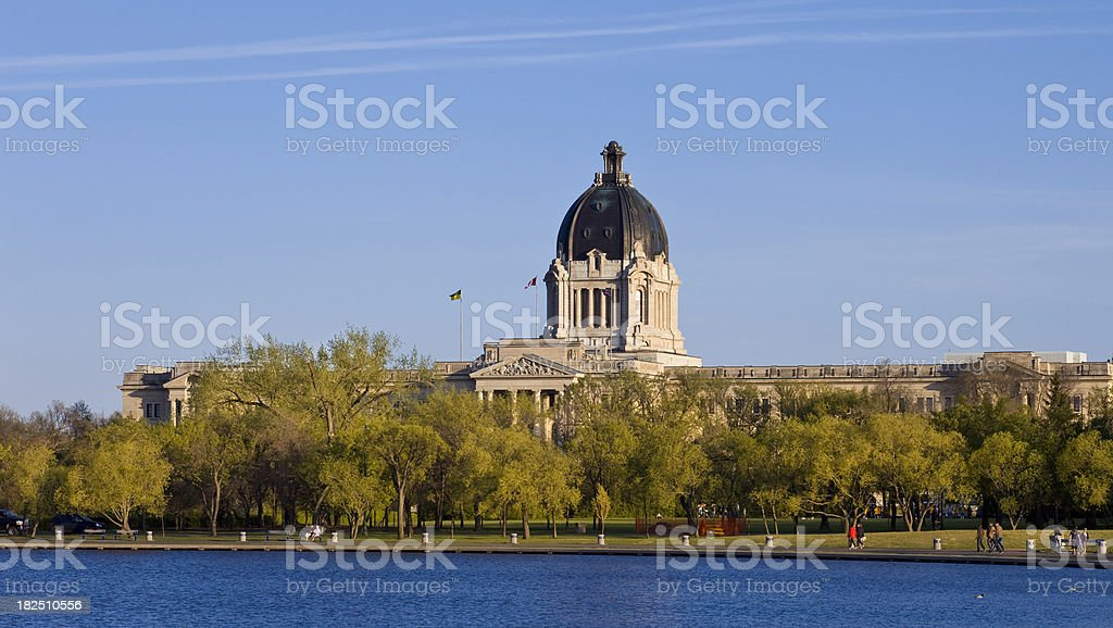 Regina, Saskatchewan, Canada royalty-free stock photo