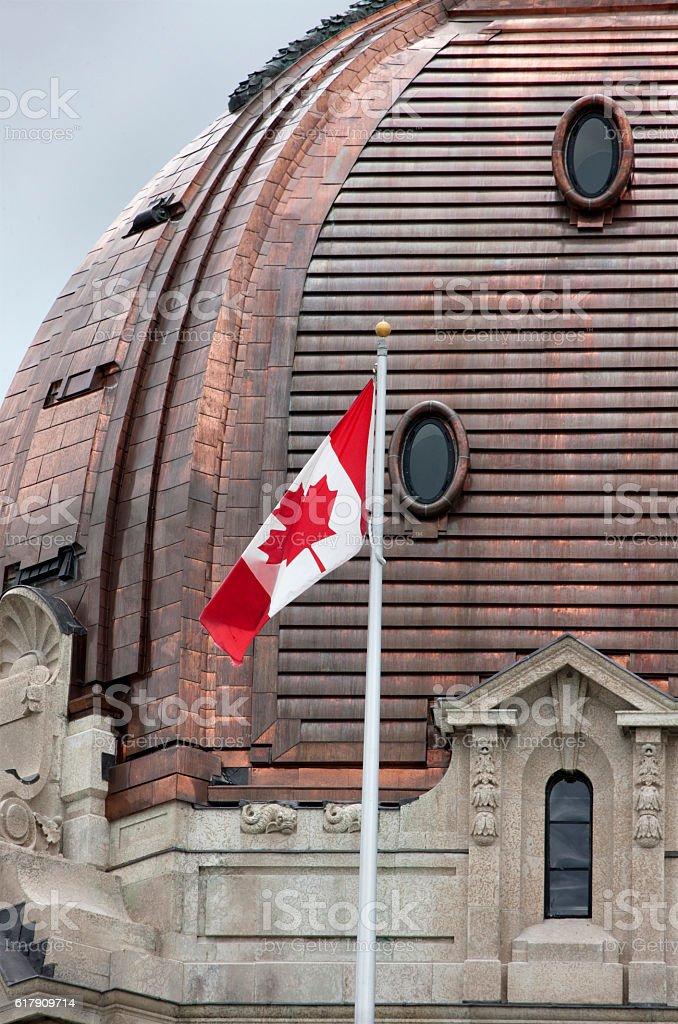 Regina Saskatchewan Legislature stock photo