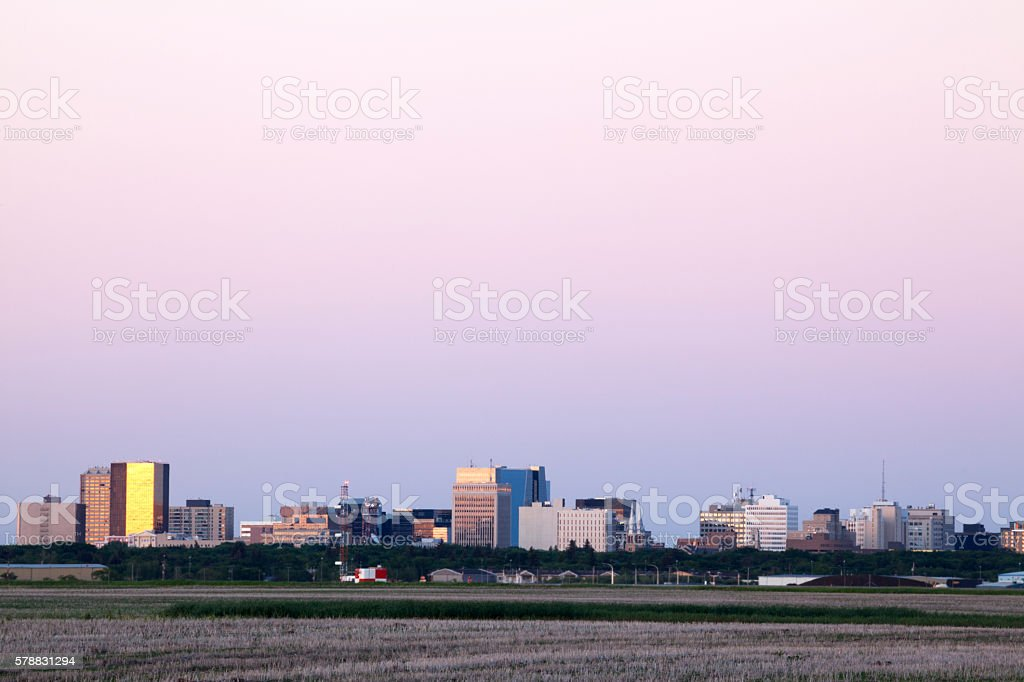 Regina Saskatchewan stock photo