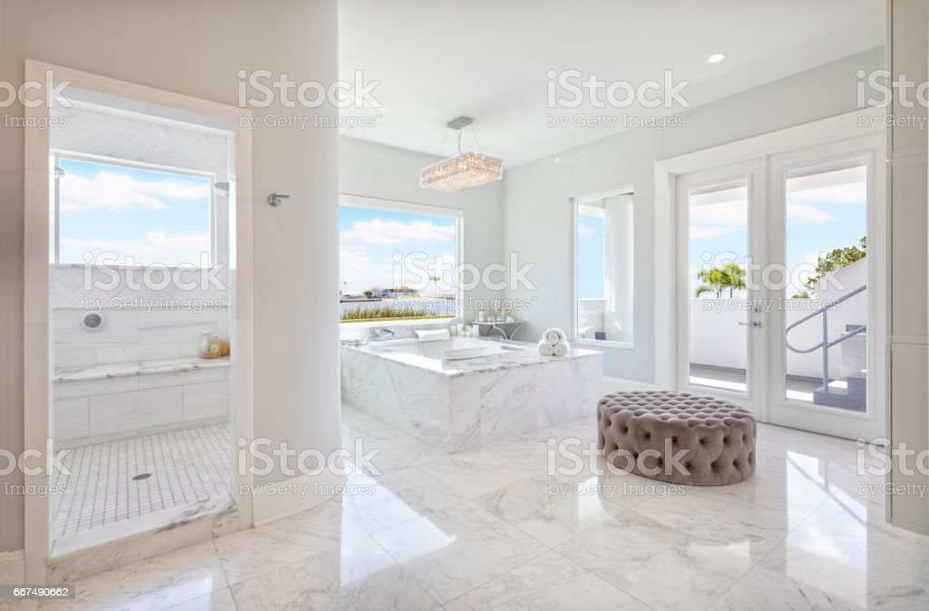 Regional Luxury Houses stock photo