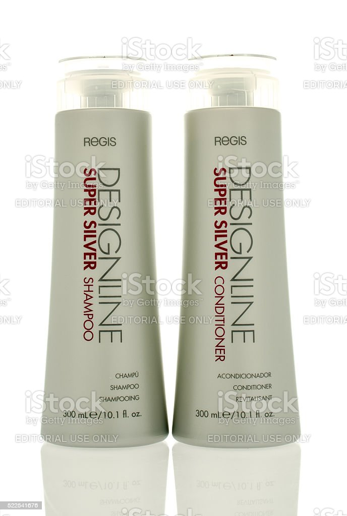 Regis Shampoo and Conditioner stock photo