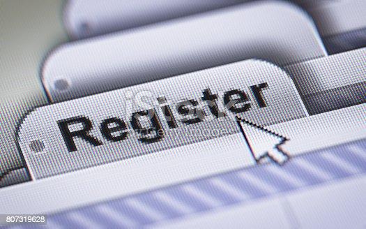istock Register 807319628