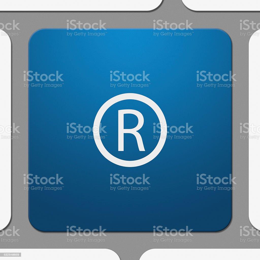 Registered Trademark Symbol On Keyboard Key Stock Photo More