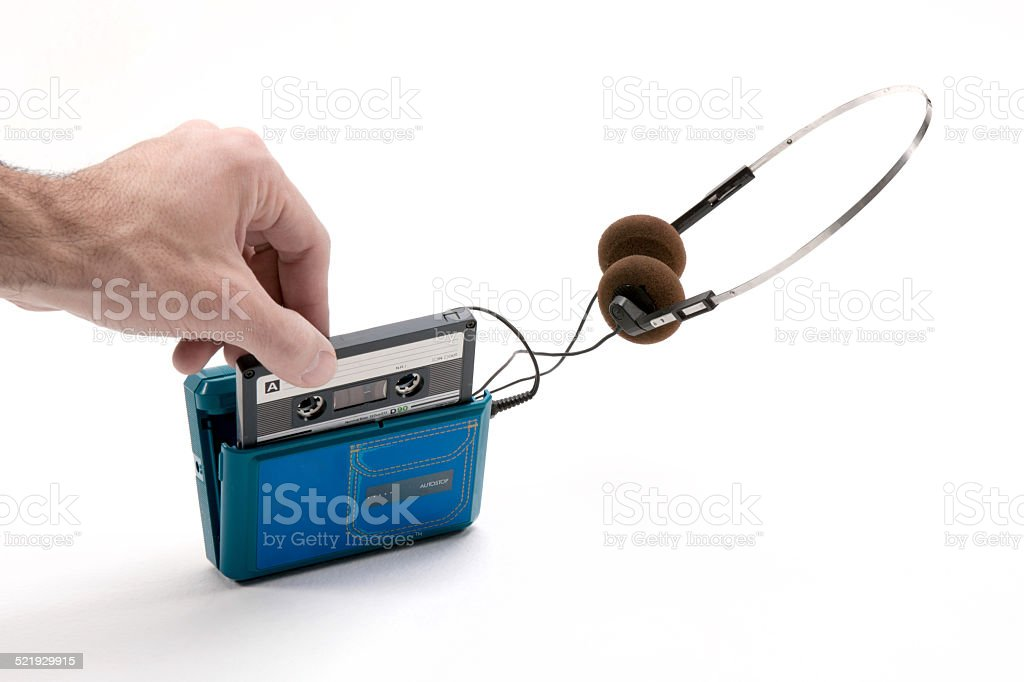 registratore blu stock photo
