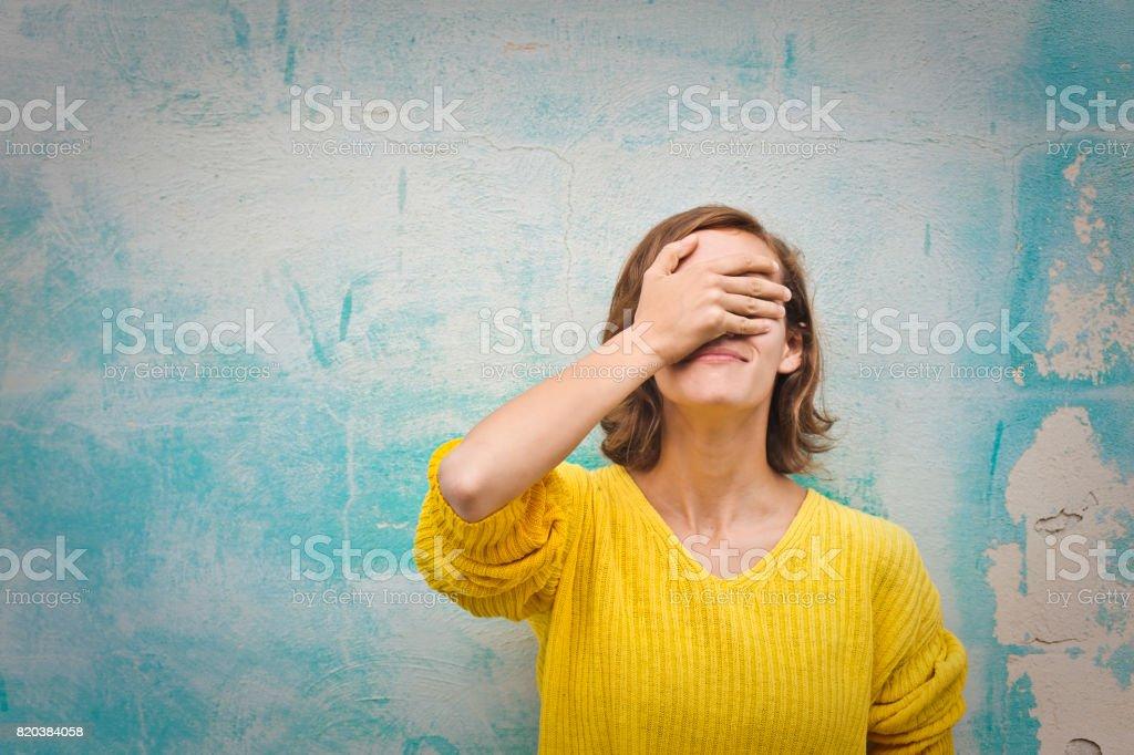 Regrets stock photo