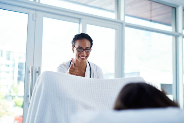 Regular cervical screening can save your life stock photo