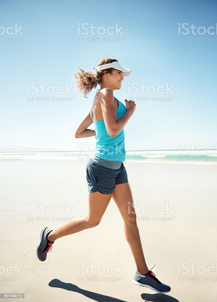 Regular exercise is great for boosting your long-term wellbeing photo libre de droits