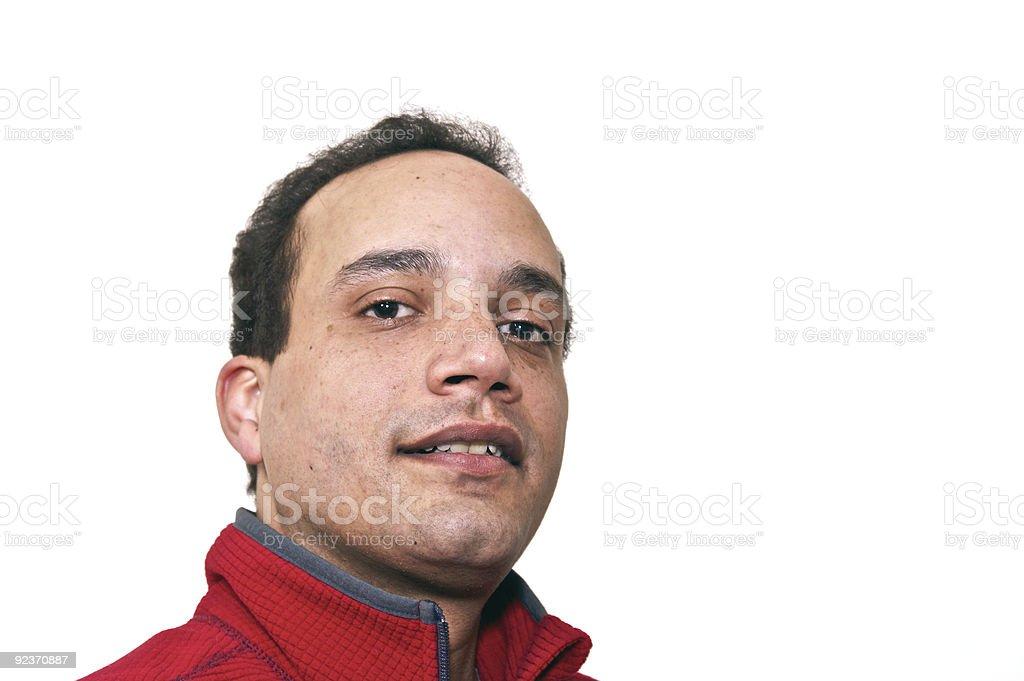 regular guy royalty-free stock photo