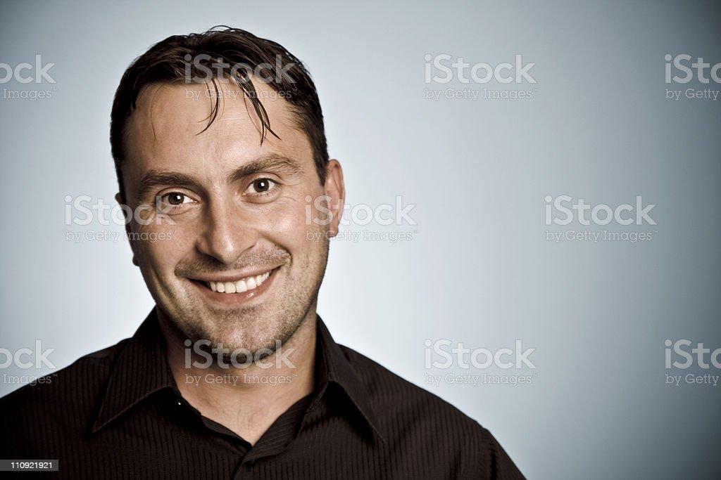 Regular Joe royalty-free stock photo