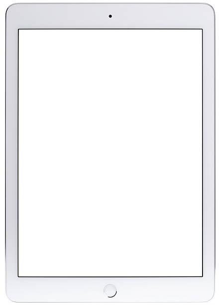 standardowy rozmiar (9,7 cala) 2016 ipad pro z pusty ekran - ipad zdjęcia i obrazy z banku zdjęć