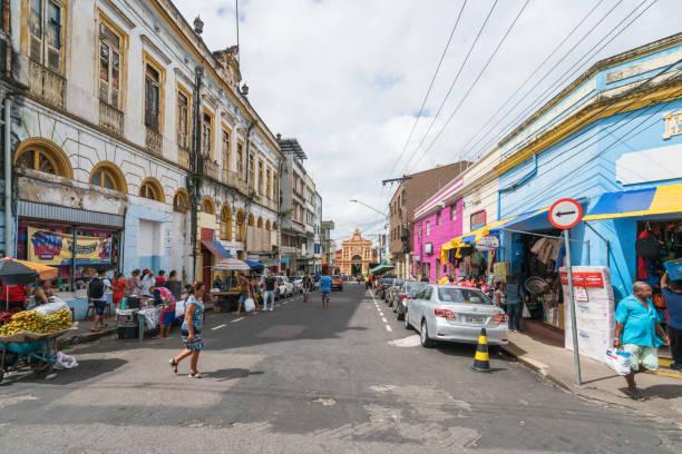 Regelmäßige Straßenansicht von Manaus – Foto