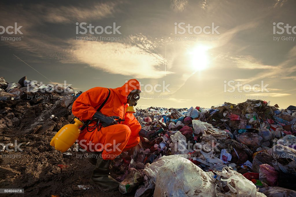 Regulation and Monitoring of Pollution stock photo