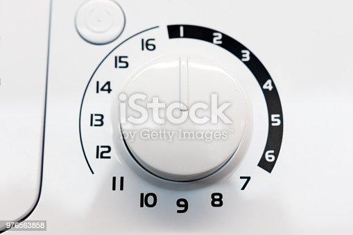 istock regulator on the control panel of household appliances 976563858