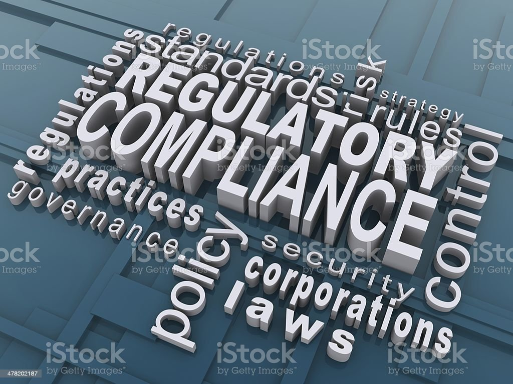 Regulatory Compliance stock photo