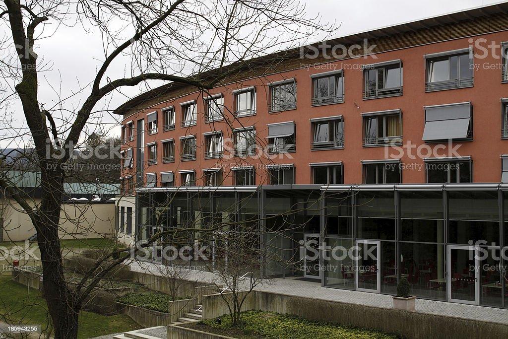 Rehabilitation Centre Bad Eilsen royalty-free stock photo