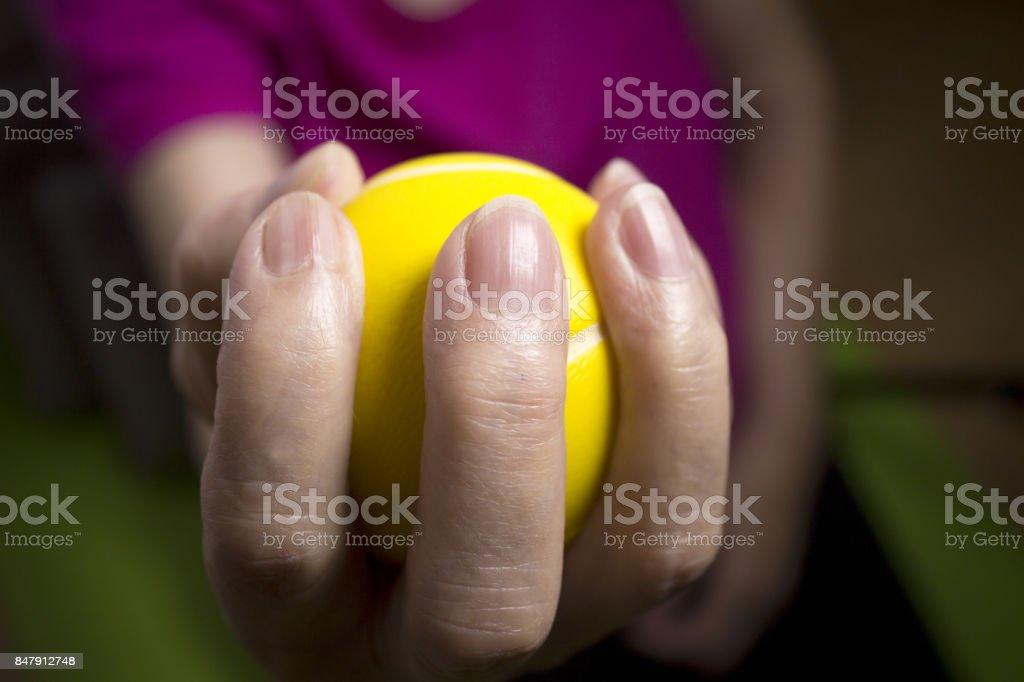 Rehabilitation exercises for an older woman with cerebral stroke Rehabilitation exercises for an older woman with cerebral stroke Active Lifestyle Stock Photo