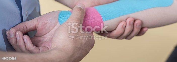 istock Rehabilitation of hand 490250666