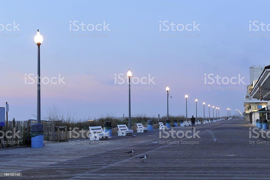 Rehoboth Beach Boardwalk stock photo